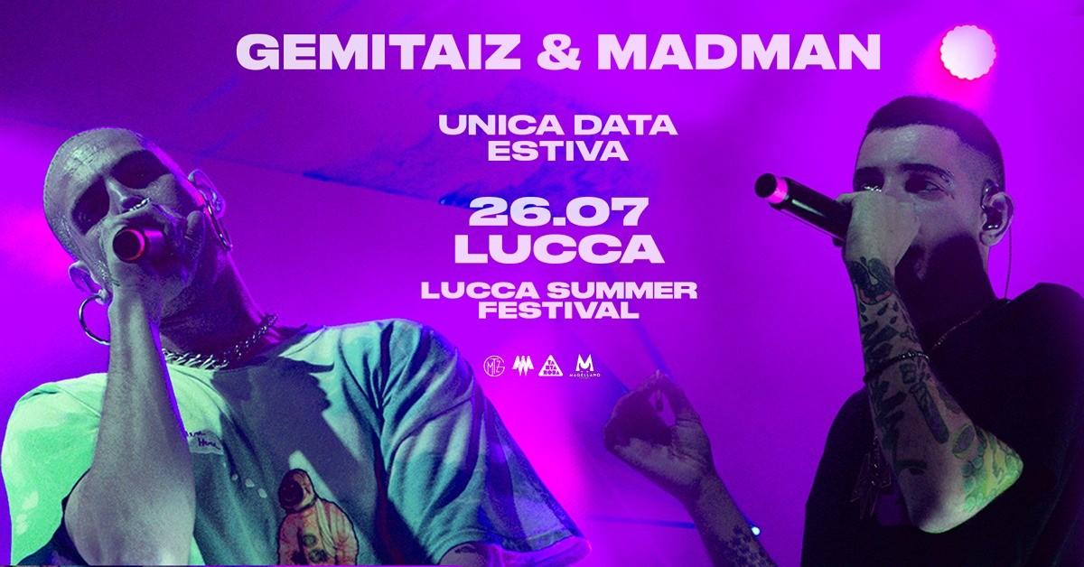 image GEMITAIZ & MADMAN - LUCCA SUMMER FESTIVAL