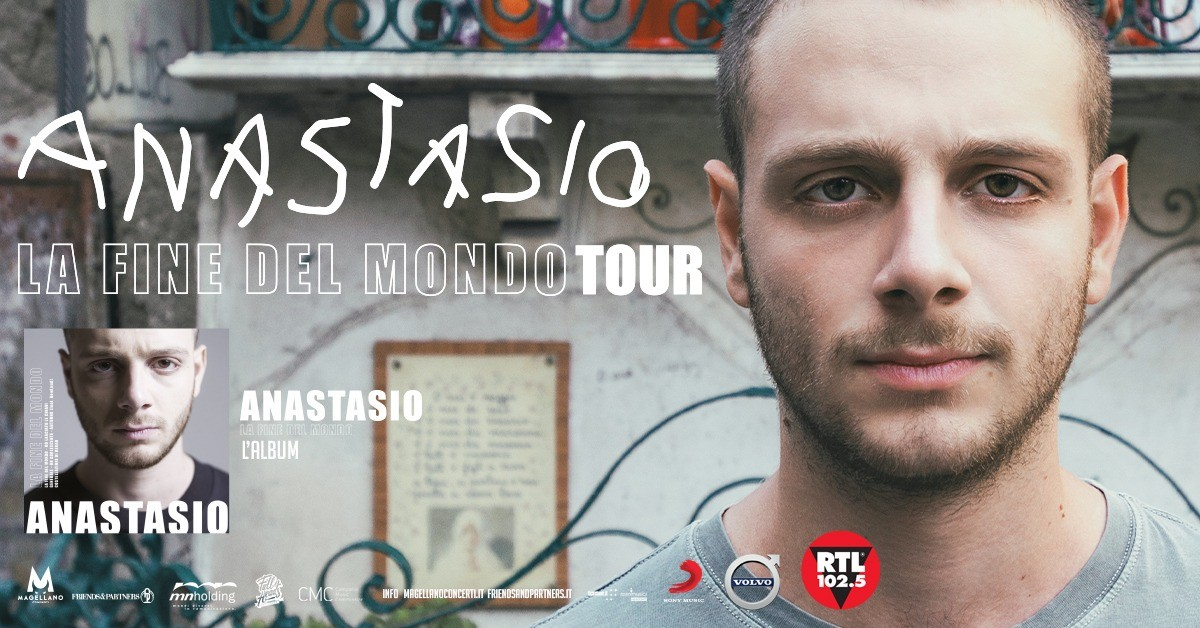 image ANASTASIO - La Fine del Mondo Tour