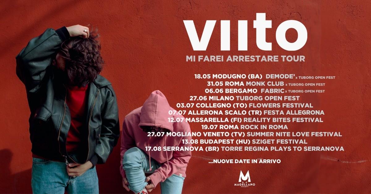 image VIITO - MI FAREI ARRESTARE TOUR
