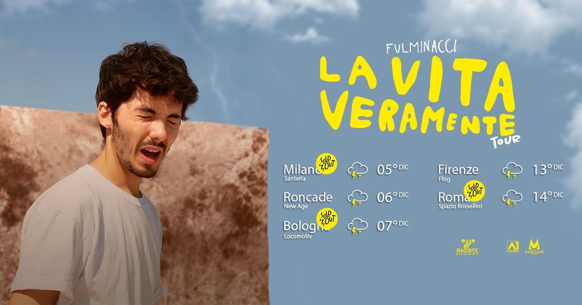 image FULMINACCI - La Vita Veramente Club Tour