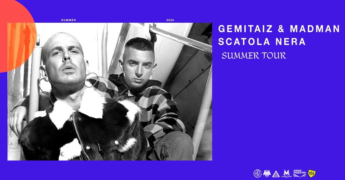 image GEMITAIZ & MADMAN - SCATOLA NERA SUMMER TOUR