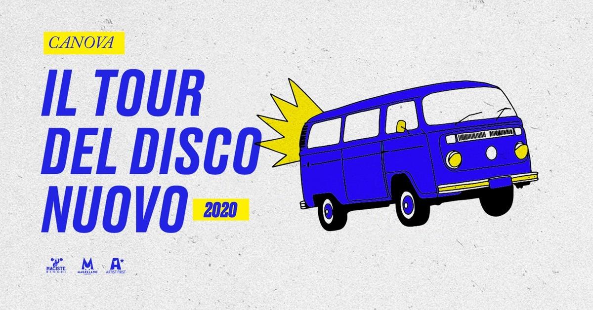 image CANOVA - IL TOUR DEL DISCO NUOVO